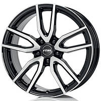 Литые диски Rial Torino R16 W6.5 PCD5x105 ET40 DIA56.6 (diamond black front polished)