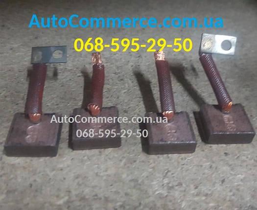 Щетки стартера угольные JAC 1020 (Джак 1020) 24V, фото 2