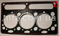 Прокладка головки блоку циліндрів двигуна Д2500 36812127 6 462452 Балканкар
