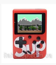 Портативная игровая приставка Retro FC SUP Game box 400 in 1 консоль Red