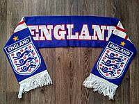 Футбольный шарф Англия синий, фото 1