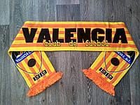 Футбольный шарф Валенсия оранжевый, фото 1