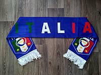 Футбольный шарф Италия синий, фото 1