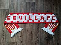 Футбольный шарф Севилья красный, фото 1