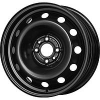 Стальные диски Кременчуг К220 (Chevrolet) R15 W6 PCD4x100 ET45 DIA56.6 (black)