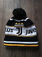 Футбольная шапка Ювентус черная, фото 1