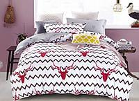 Сатин-люкс.Полуторный комплект постельного белья.100% хлопок.