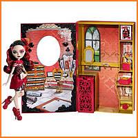 Игровой набор и кукла Ever After High Лиззи Хартс (Lizzie Hearts) Неудержимая весна Школа Долго и Счастливо