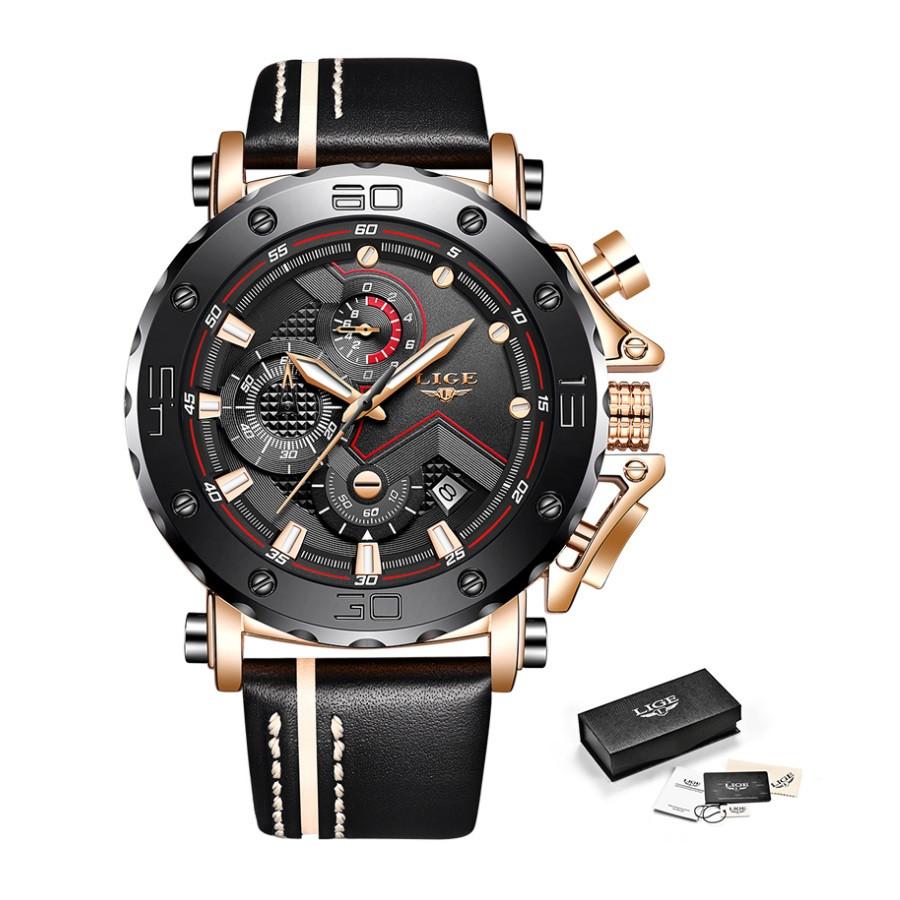 """Мужские оригинальные наручные часы """"LIGE 9899"""""""