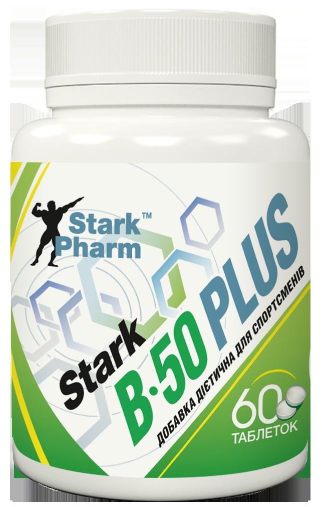 Мультивитаминный комплекс Stark Pharm - B-50 Plus (B-complex) (60 таблеток)