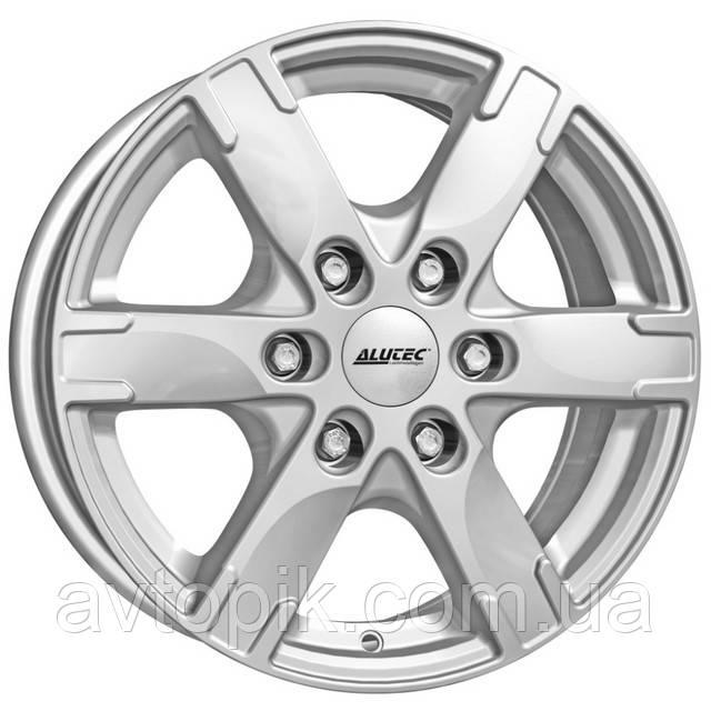 Литі диски Alutec Titan R17 W7.5 PCD6x139.7 ET30 DIA106.1 (polar silver)