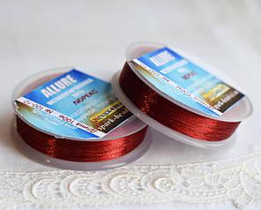 Люрекс ALLURE, красный, 100м, Spark Beads