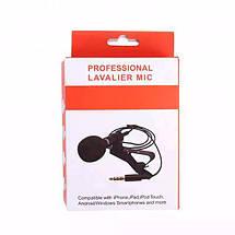 Професійний петличний мікрофон ZL06 (для камер, смартфонів, планшетів, ноутбуків, ПК), фото 3
