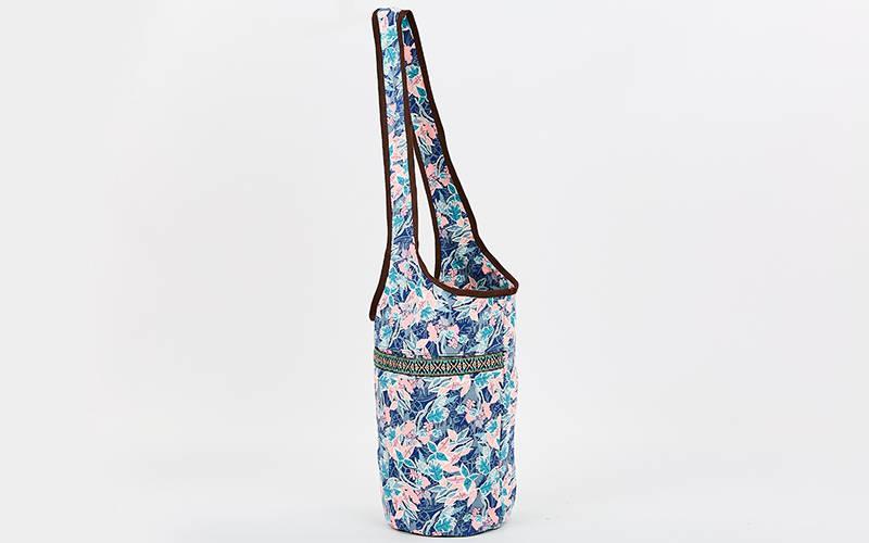 Сумка для фитнеса и йоги через плечо Yoga bag KINDFOLK FI-8364-2