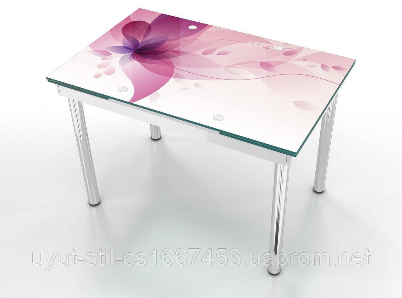 Раскладной стеклянный стол Maxi