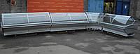 Линия холодильных гастрономических витрин «Технохолод Калифорния» 8.5 м. (Украина), под выносной холод,. Б/у