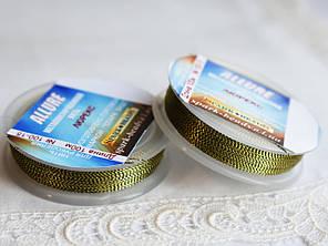 Люрекс ALLURE, темная латунь, 100м, Spark Beads