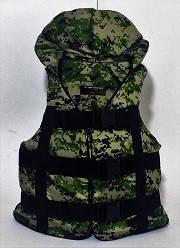 Жилет спасательный  детский  Пиксель 30-50 кг.