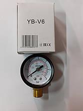 Манометр радиальный TESORO YB-V6 0-6, 40мм
