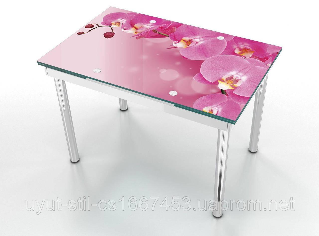 Стеклянный стол Maxi раскладной