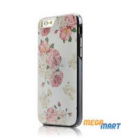 Чехол WOWcase Combo Printing case Roses for iPhone 6