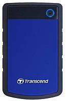 "Накопитель внешний HDD 2.5"" USB 4.0TB Transcend StoreJet 25H3 Navy Blue (TS4TSJ25H3B)"
