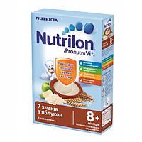 Молочная каша Nutrilon 7 злаков с яблоком, 225 г