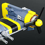 Конструктор Lepin 22021 Space Fighter — Боевой самолёт 572 дет, фото 5