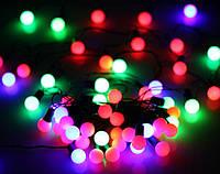 Новогодние гирлянды, шарики, фото 1