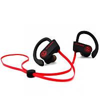 Bluetooth-гарнитура AirOn Zeus Sport Black/Red (6945545500230)