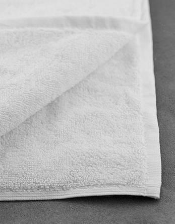 Полотенце махровое 70х140-Белое, 550 гр/м², фото 2