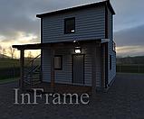 Дачный модульный дом 2 этажа, фото 3