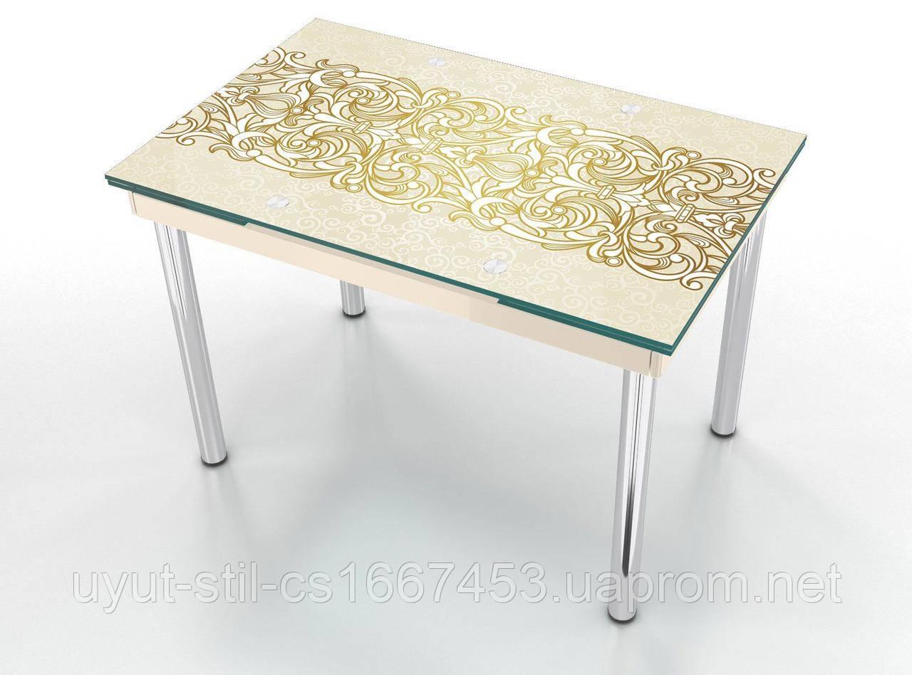 Стеклянный раскладной стол Maxi