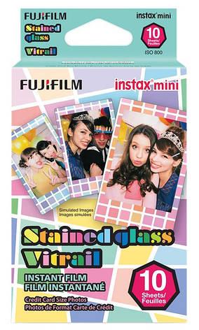 Фотопапір Fujifilm COLORFILM INSTAX MINI STAIND GLASS (54 x 86 мм) 10шт (16203733), фото 2