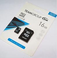 Карта памяти MicroSDHC Class 10 TEAMGROUP 16GB