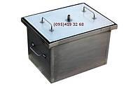 Домашняя коптильня горячего копчения с гидрозатвором (400х300х280)