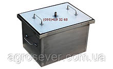 Домашня коптильня гарячого копчення з гідрозатворів (400х300х280)