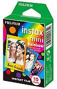 Фотопапір Fujifilm COLORFILM INSTAX MINI RAINBOW (54 x 86 мм) 10шт (16276405)