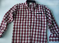 Рубашка на мальчика в клетку, фото 1