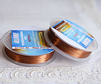 Люрекс ALLURE, теракот, 100м, Spark Beads