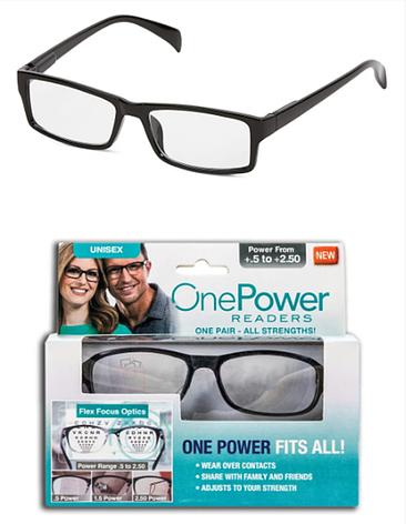 Стильные очки для коррекции зрения One power fits all ( power from +.5to +2.50 ), фото 2