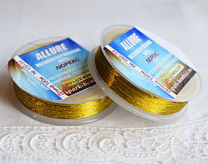 Люрекс ALLURE, золото ацтеків, 100м, Spark Beads