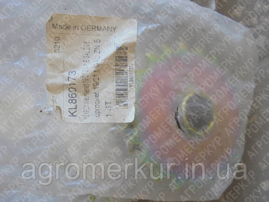 Зірочка Z-19/21 KL860173 Kverneland, фото 2