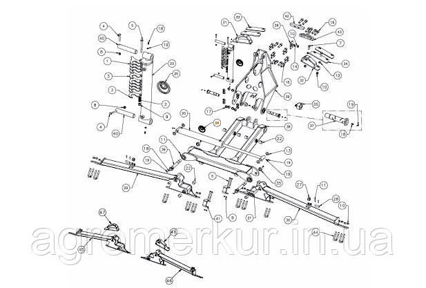 Набір сальників гідроциліндра RF27595 Kverneland