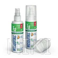 """Спрей Лосьон """"Москитол"""" защита для взрослых от комаров 100 мл код 640"""