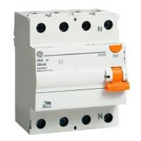 GE Пристрій захисного відключення DCG263/030 4P. AC