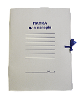 Папка скоросшиватель А-4 КАРТОН. (0.35) /упак.100шт./ ш.к.4820008710024