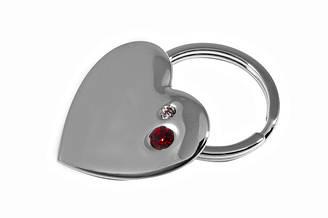 Брелок Elite Сердце Серебристый 63711, КОД: 176389