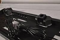 Рамка для номера с парктроником - установка камеры заднего вида, фото 2