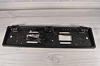 Рамка для номера с парктроником - установка камеры заднего вида, фото 4
